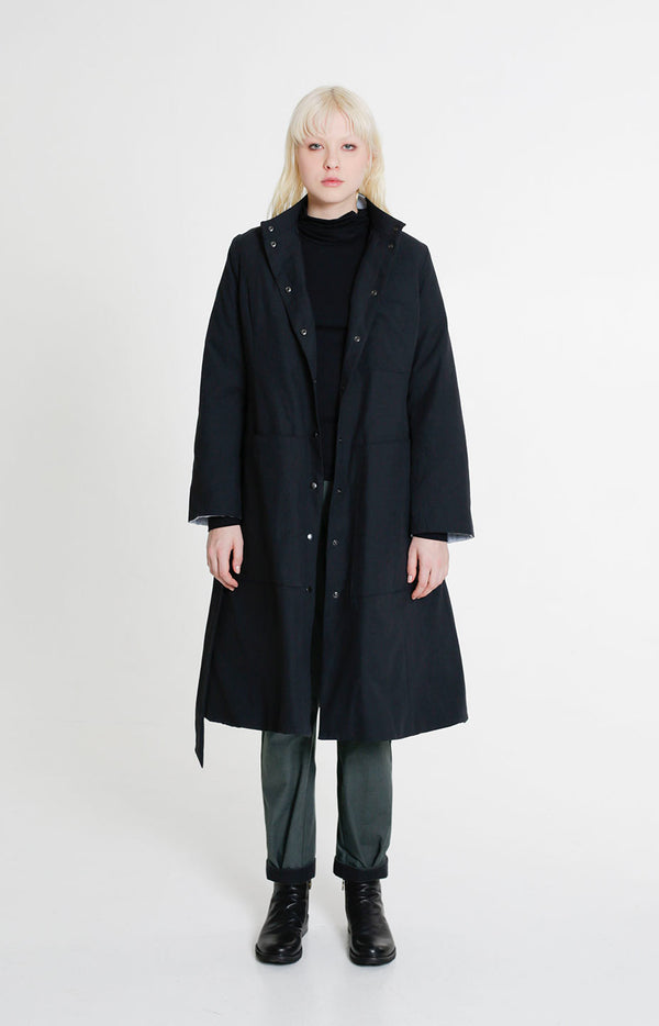 Journey Winter Coat Coal Black