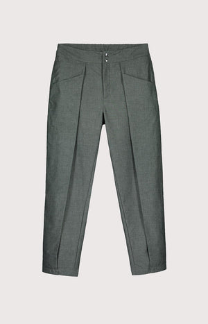 Kinship Wish trousers melange alpine green M