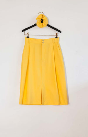 Kinship Summer skirt sunshine yellow S - - TAUKO - TAUKODESIGN