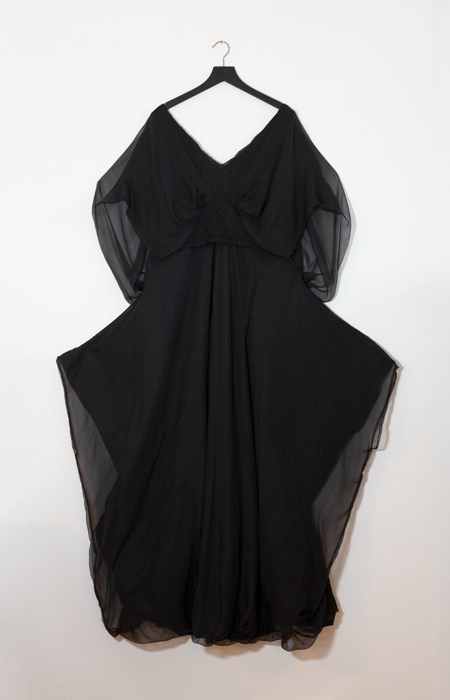 Kinship Custom evening dress black L - - TAUKO - TAUKODESIGN