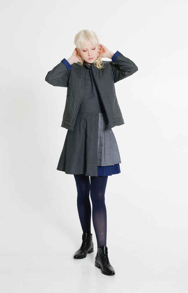 Lookout Winter Jacket Melange Grey