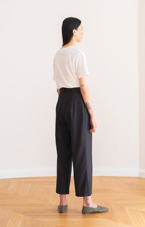 Mya slacks coal black