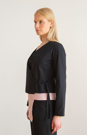 Physa shirt coal black