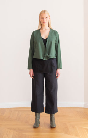 Physa shirt garden green - Tops - TAUKO - TAUKODESIGN