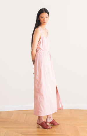 Quince strap dress chalk pink - Dresses - TAUKO - TAUKODESIGN