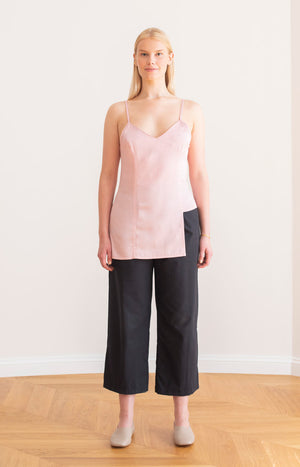 Quince strap top chalk pink - Tops - TAUKO - TAUKODESIGN