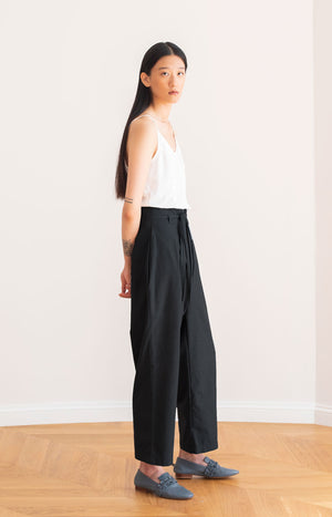 Road trousers coal black