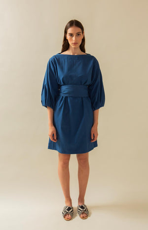 Aurelia dress dark blue