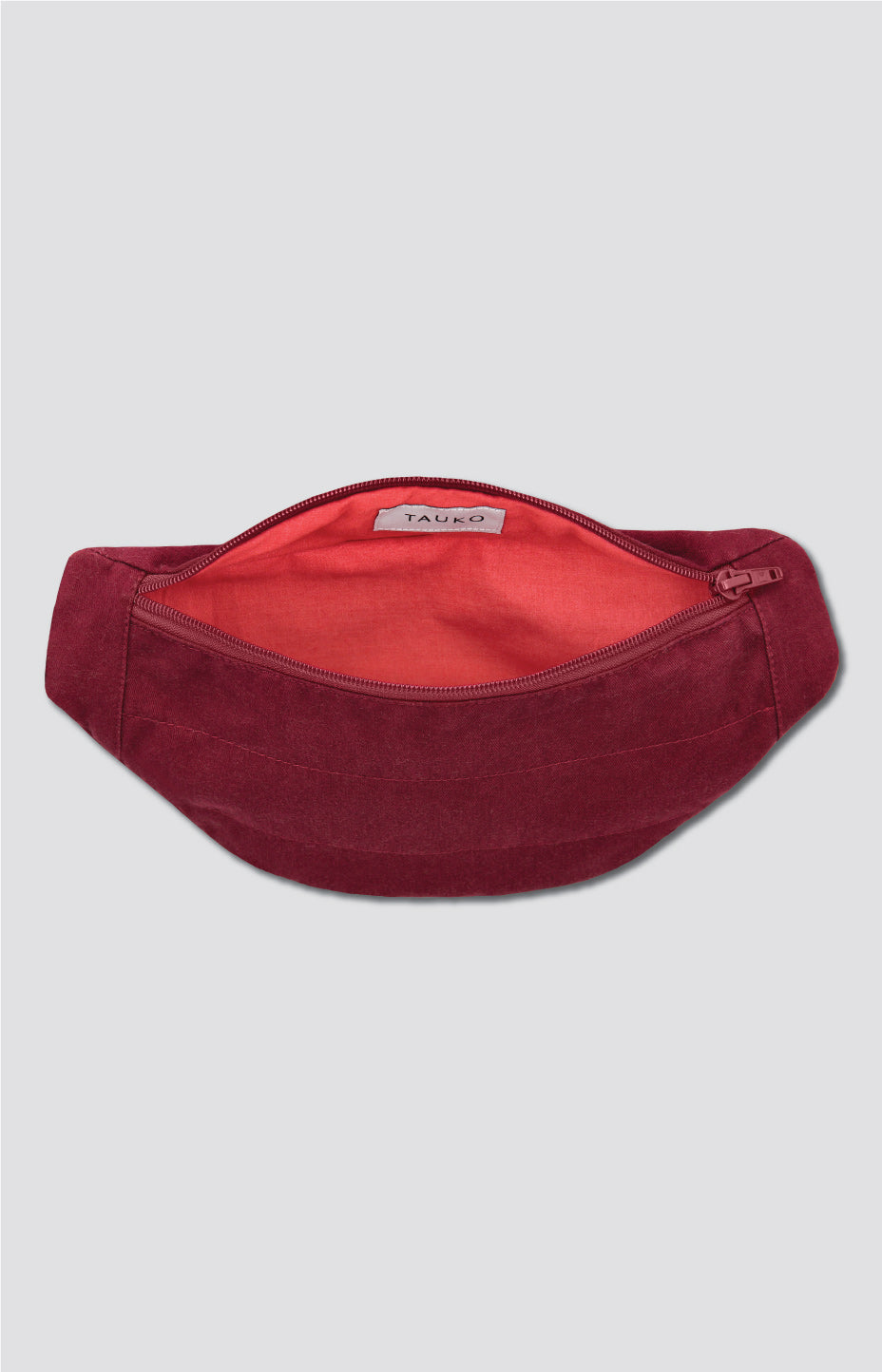 Ring belt bag cabernet red - Accessories - TAUKO - TAUKODESIGN