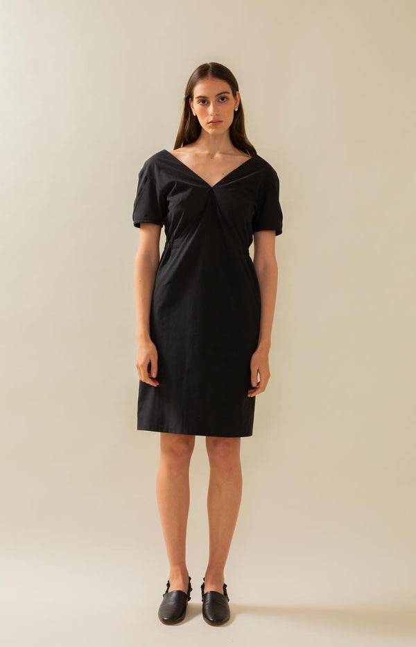 Crystal dress coal black - Dresses - TAUKO - TAUKODESIGN