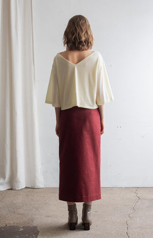AW20 Ease shirt whisper white - Tops - TAUKO - TAUKODESIGN