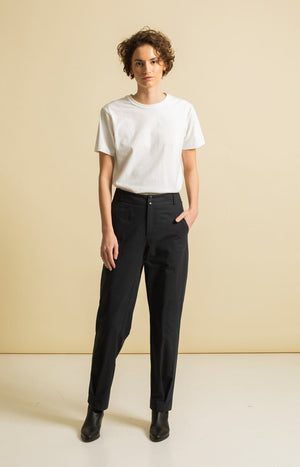 Fairway Trousers Coal Black