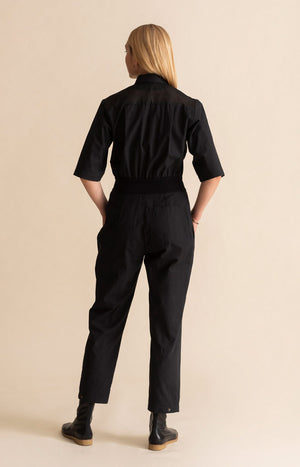 TAUKO x Hanna G jumpsuit coal black