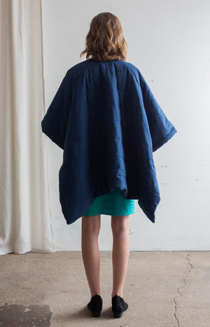 Hug cape marine blue