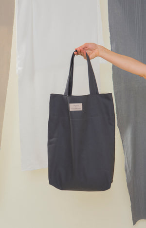 Karttajäkälä bag dark grey