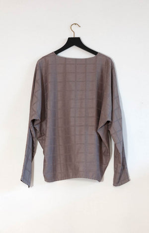 Kinship Kulma shirt melange brown L