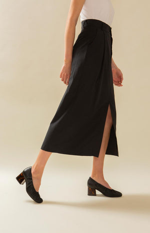 Mya skirt coal black