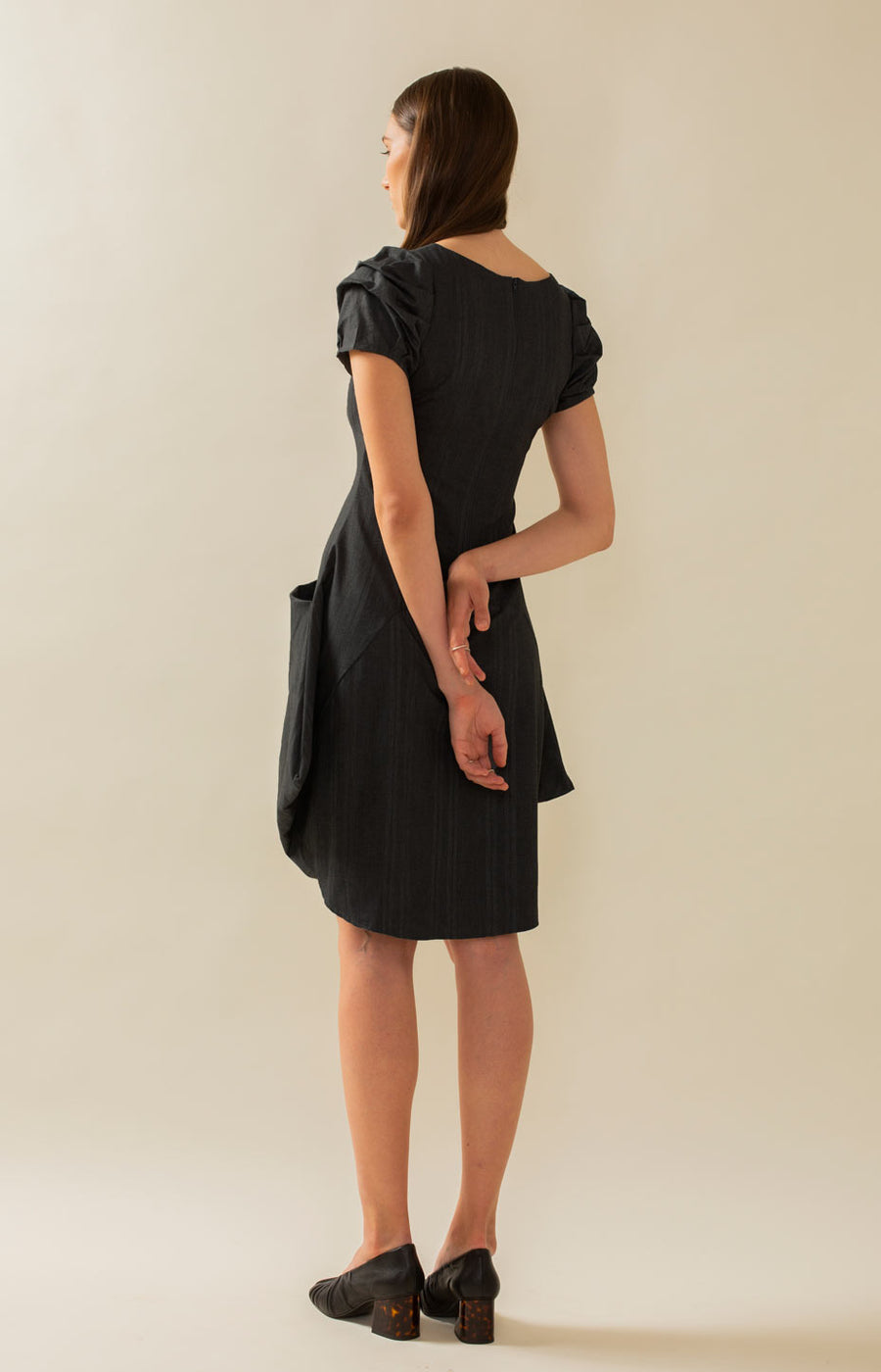 PicnicLeija Dress Coal Black - Dresses - TAUKO - TAUKODESIGN