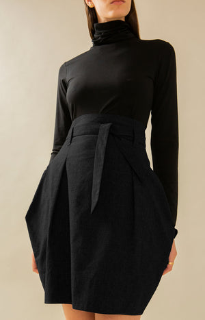 Radalla Tulip Skirt Coal Black