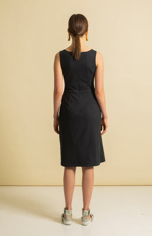 Sand Dress Coal Black