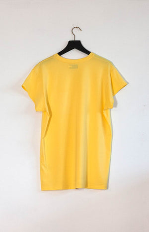 Kinship Tee sunshine yellow S