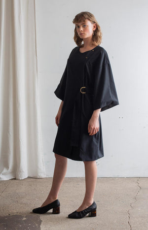 Touch dresscoat coal black