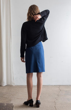 Touch skirt marine blue