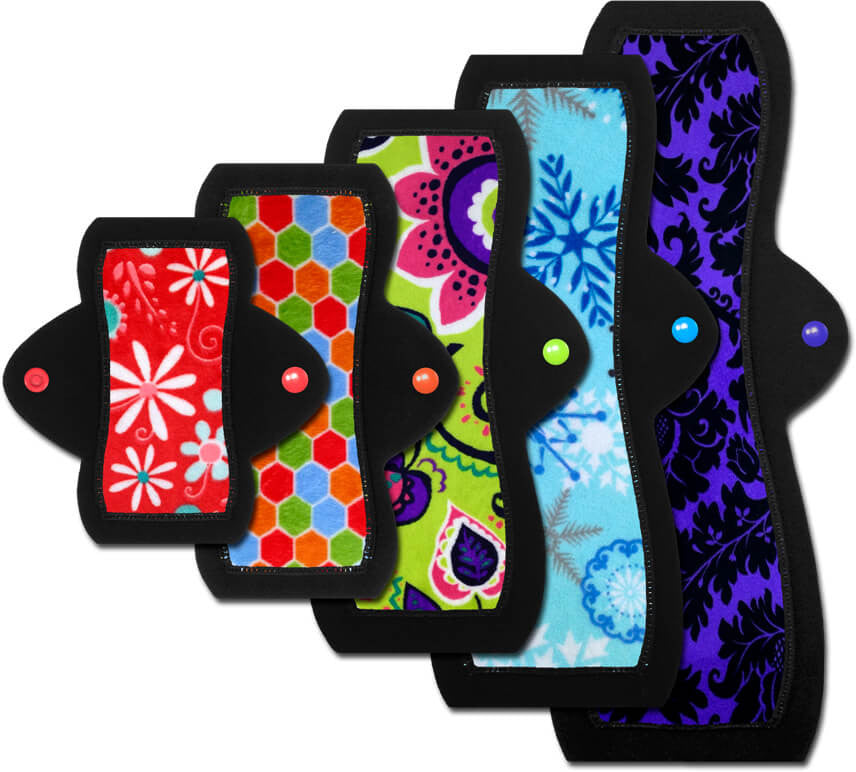 Reusable Cloth Menstrual Pads & Pantyliners