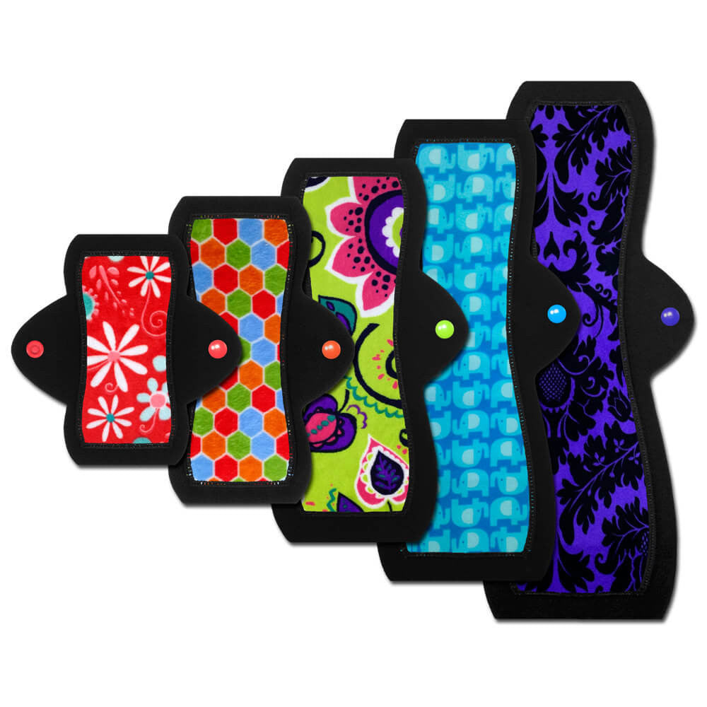 Cloth Pad Size Sampler Set