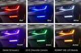 2016-2018 Chevrolet Camaro Multicolor DRL LED Boards