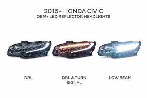Honda Civic (2016+) OE Style LED Headlights *RTS*