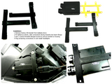 Ballast Brackets: VisionAutoworks 3DP for XB Ballasts (Acura RSX)