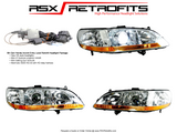 Honda Accord (1998-2002) Headlight Package