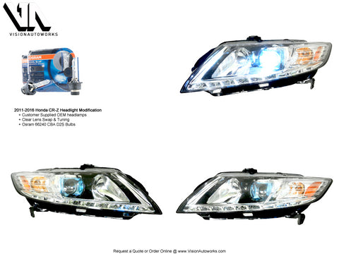 Honda CR-Z (2011-2016) Headlight Performance & Style Package
