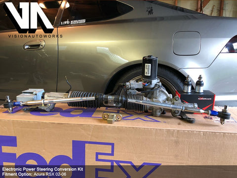 Electronic Power Steering (EPS) Conversion Kit – VisionAutoworks on