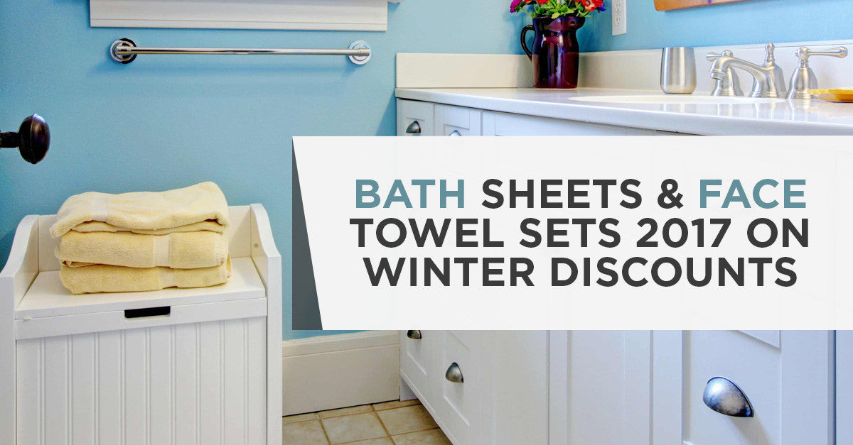 Buy Bath Sheets and Face Towel Sets