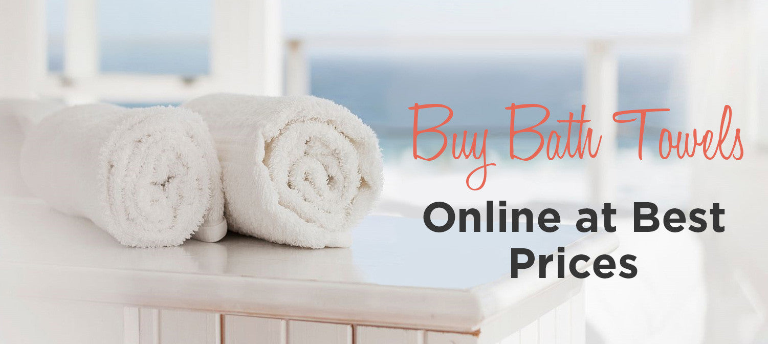 Bath Sheets: Buy Bathroom Towels Online at Best Prices - Bath Decor ...