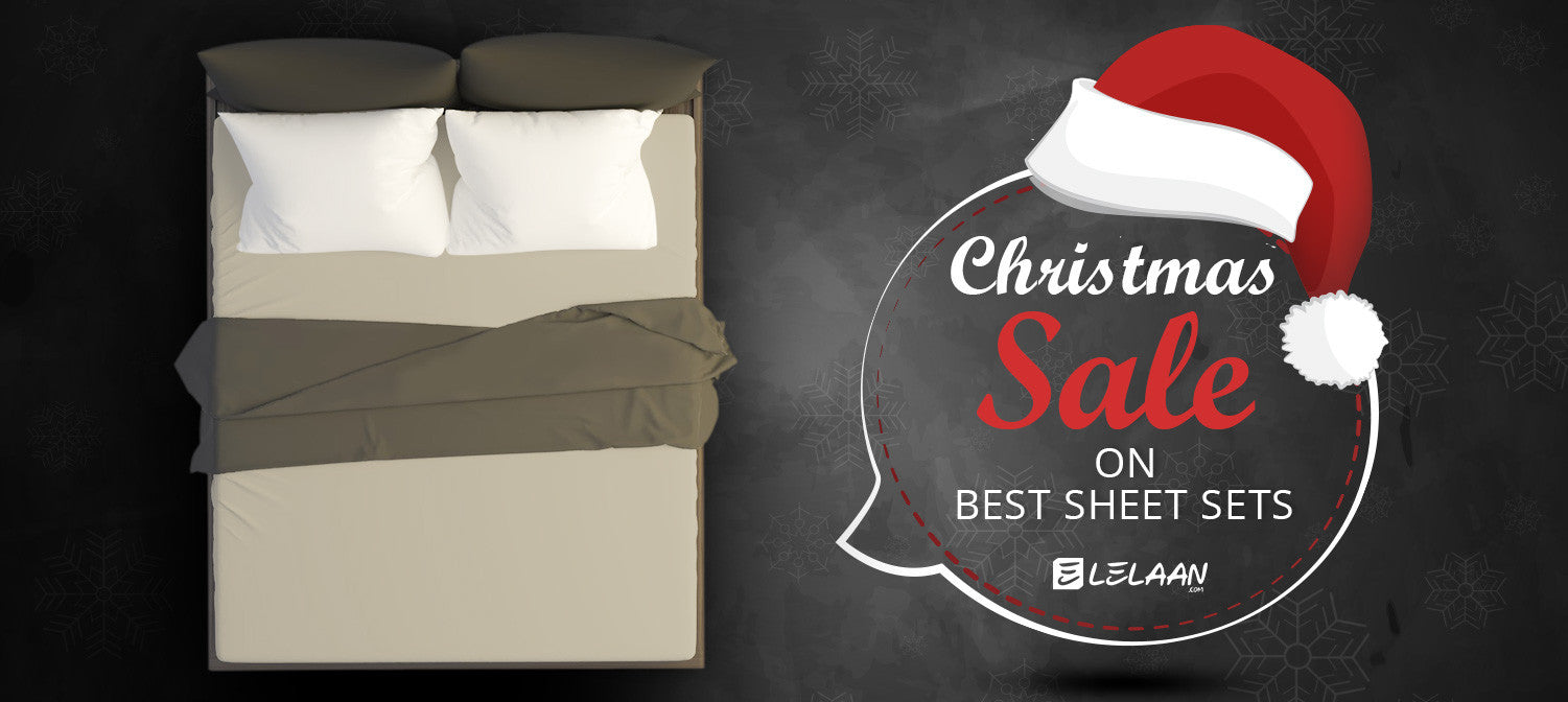 Christmas Sale For Luxury Sheet Sets - Holiday Sale 2017