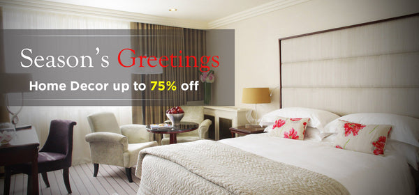 Home Decor up to 75% off - Shop Today's Sales on Lelaan- Wishes You Season's Greetings