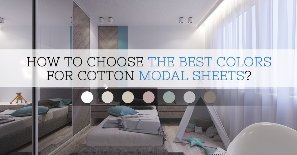 Choose Cotton Modal Jersey Sheets In Best Colors