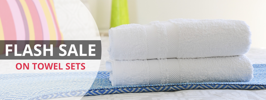Flash Sale on Towel Sets, Towels Flash Sale