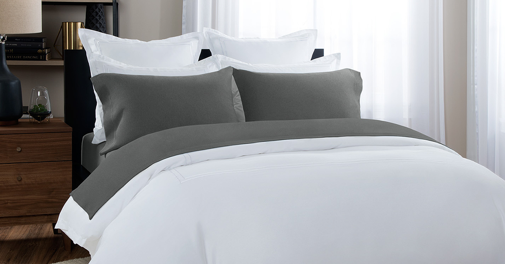 Melange Bedding: Cotton Melange Jersey Sheets - Melange Bed Sheets ...