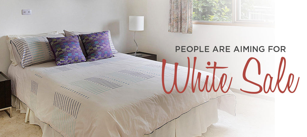 People Are Aiming For White Sale