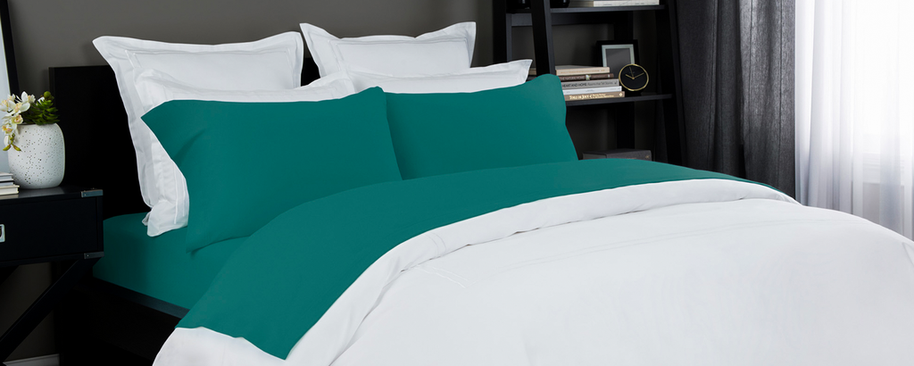 Jersey Sheet Set in Teal