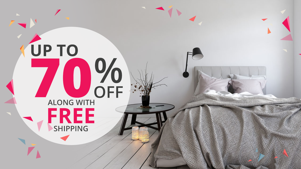 Save Upto 70% OFF On All Home Decor Products