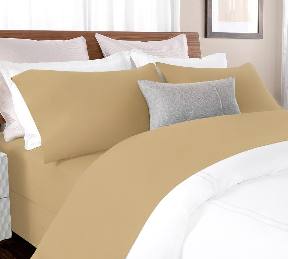 Solid Percale Sheet Set In Tan   Percale Sheet Set Online, Best Percale Sheet  Sets ...
