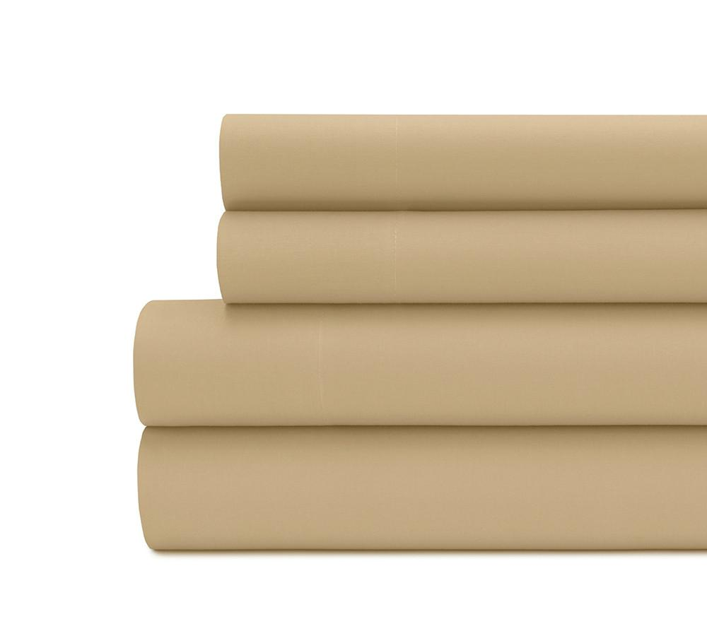 Solid Percale Sheet Set Lelaan