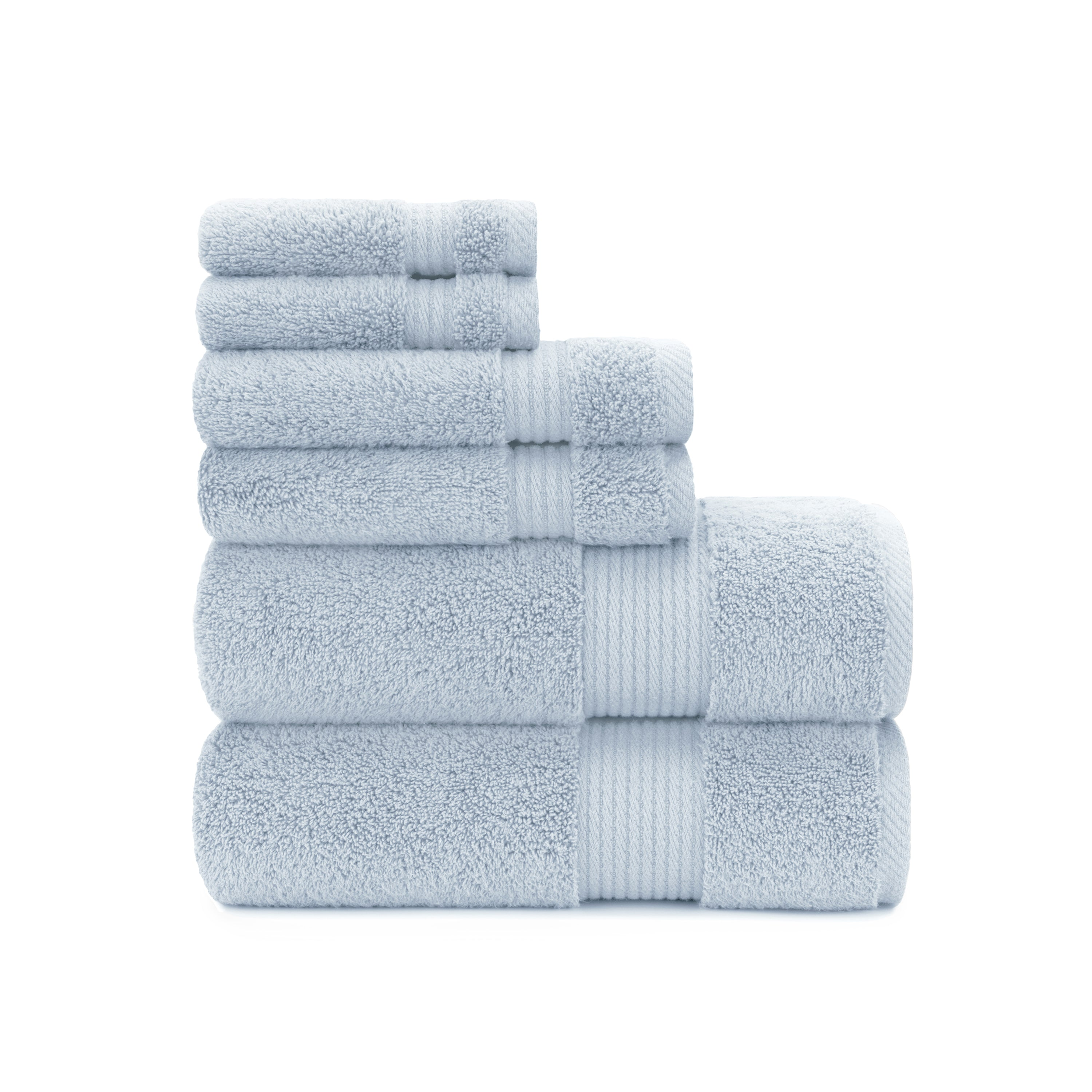 Cotton Craft 6 Pack, Redecorate Your Kitchen, 100% Combed Cotton Towels,  Designer Towel Set U0026 Guest Towels