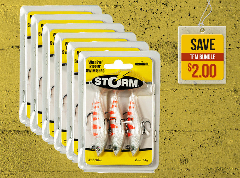 *SOLD OUT! Storm Wildeye Rippin Swim Shad Set