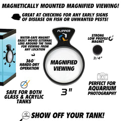 DeepSee Nano Magnified Magnetic Aquarium Viewer 3""